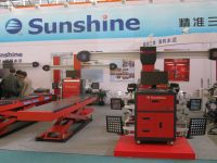 SUNSHINE 3d wheel alignment with CE
