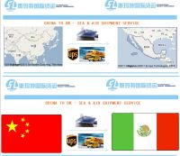 express, LCL, FCL from Shenzhen, Ningbo, China, to  Manzanillo Mexico