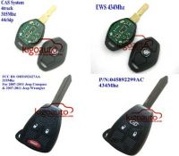 Remote key/shell for BMW