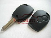 Remote key shell 2button for Renault