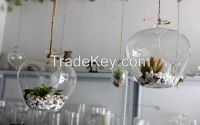 glass hangings vase