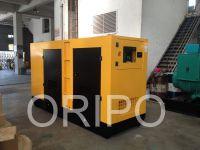 100kw soundproof generator set with 100% copper alternator