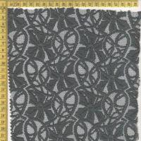 Cotton/nylon lace fabric