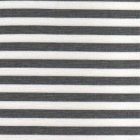 Knitted stripe ponte