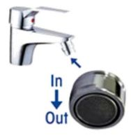 Water Saving Devices For water taps, shower taps and shower heads