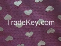 polyester hexagon mesh metallic fabric for wedding dress and package