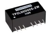 DC/DC Converters/ Power regulators/ TP2L24S05S-2W for power supply