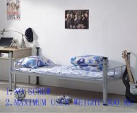 Cheap single metal bed