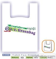 T-shirt  7 a.c. Greenbag