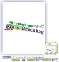 Ecology 13 a.c. Greenbag