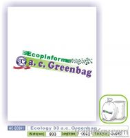 Ecology 33 a.c. Greenbag