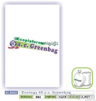 Ecology 45 a.c. Greenbag