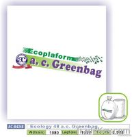 Ecology 48 a.c. Greenbag