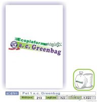 Pet 1 a.c. Greenbag