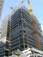 steel structure and office block