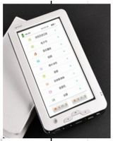 7 inch ebook promote selling with touch panel