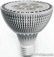 LED PAR30, E27, 7*1W