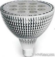 LED PAR38, E27, 12X1W