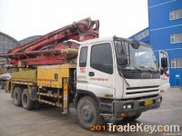 37M Sceond Hand and Used Putzmeister Concrete Pump Truck