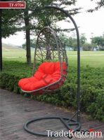 TF-97042012 hot outdoor furniture rattan swing chair