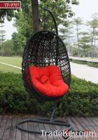 TF-9707 outdoor single rattan swing chair