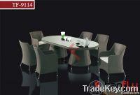 TF-9114 6pcs outdoor dining set