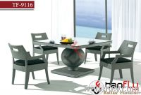 TF-9116 hot sale outdoor wicker dining set