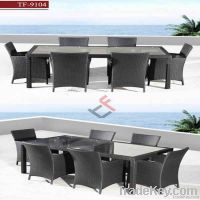 morden dining table and chair furniture