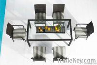 Morden wicker rattan table furniture