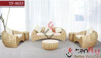 TF-9035Luxury rattan sofa set/Living rattan sofa