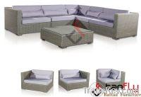 TF-9051B New style modular wicker sofa set