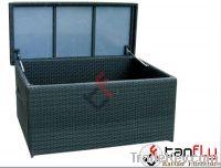 Wicker rattan box
