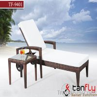 wicker rattan outdoor lounge