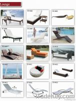 outdoor chaise sun beach bed