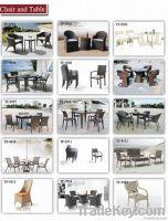 wicker outdoor bistro table set
