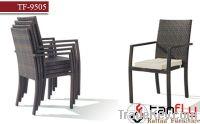 TF-9505C Modern outdoor stackable rattan chair