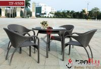 Rattan Dining Table And Chair Set