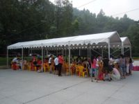 outdoor temporary tent with aluminium and PVC
