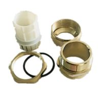 Wiring accessories nickel plated brass cable gland