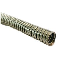 Stainless steel flexible electrical cable conduit