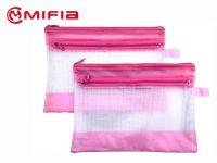 PVC Mesh Zip Bag   MIFIA