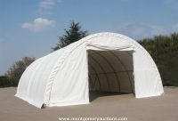 9m Wide Semicircle Fabric Carport, Temporary Building, Storage Shelter, Portable Garage