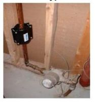 Cold Water Line (after meter)
