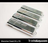 new jewelry usb 2.0 flash drive with SWA elements