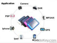 5000MAH Solar Battery Panel Charger Mobile Power bank External Battery