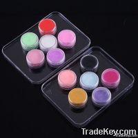 12 Color 3D Nail Art Acrylic Powder Manicure Nail Tips