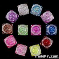 12 Colors Nail Paillette Art Decoration Sticker