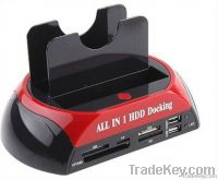 "2.5"" 3.5"" SATA/IDE HDD 2-Dock Docking Station e-SATA/Hub"