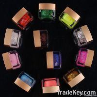 12 Color UV Gel Glitter Gel for Nail Art, Free Shipping