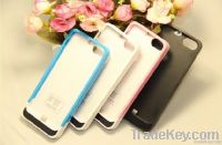 External Power Pack Stand Charger Backup Battery For iPhone 5